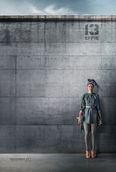 Effie's MOCKINGJAY District 13 Character Poster