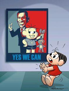 Yes,We Can by Turma da Mônica