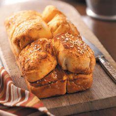 Pull-Apart Garlic Buns Recipe from Taste of Home