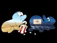 Corto animado de Pixar... el dia y la noche