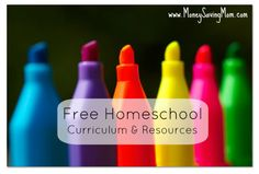Heres a long list of FREE homeschool curriculum and resources -- great for any parent or teacher!