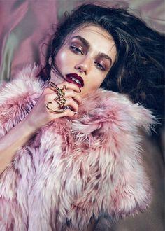 blissfully-chic:  Model: Andreea Diaconu - WSJ Magazine, July 2013 נк∂