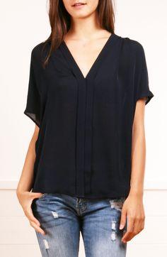 Super classy silk blouse