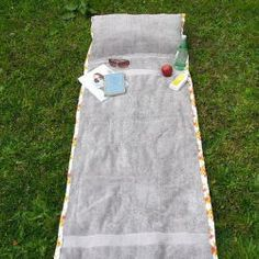 Tutorial for sunbathing towel with pillow