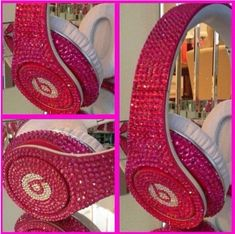 Oh wow! Blinged out headphones!