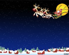 Christmas Santa Claus PPT PowerPoint is a great design for Christmas season