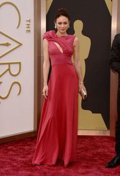 oscar 2014, evening dresses, bond girl, red carpets, oscar dresses
