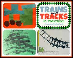 preschool train theme, train preschool, train tracks, preschool artcraft, trains preschool