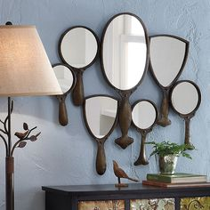 Hand Mirror Collage