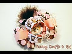 """""""Twisted Loops"""" hairbow tutorial (How to make hairbows) DIY"""