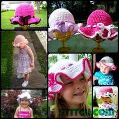 Free Crochet Sun Hat Patterns! - Free always fits my budget!