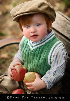 Adorable Irish Lad.... hair colors, ginger, red hair, children, babi, redhead, appl pie, red cheek, apple pies