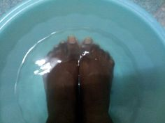 Home foot soak: mix 1/4 cup listerine 1/4 cup vineger 1/2 cup warm water for soft smooth feet