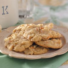 Potato Chip Cookies.  If you love salty & sweet this is perfect.  March 14th is National Potato Chip Day!