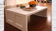 DIY Coffee Table made out of a door