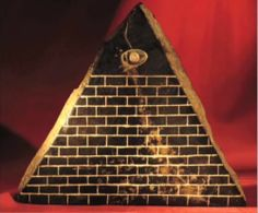 "A very interesting artifact found in Ecuador in the 1980s is the so-called Pyramid with the Eye. It has thirteen steps,the eye is an inlay and looks exactly like the Pyramid on the US one dollar bill. On the bottom, there's an inlay in little gold plates showing the Orion star constellation, and writing. Professor Kurt Schildmann's translation found it to be pre-Sanskrit because it's older than the oldest writing. His translation of the four letters is: ""The son of the creator comes."""
