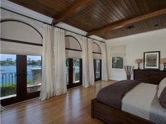 Anna Kournikova's Miami Beach Estate: Master Bedroom