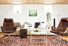 Una casa nórdica con mucho estilo
