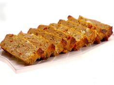 Turkey Meatloaf with Feta and Sun-Dried Tomatoes Recipe : Giada De Laurentiis : Food Network - FoodNetwork.com