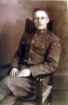 Military Memories: Uncle Jimmy Whetstone and WWI #genealogy #familyhistory #militarymemories