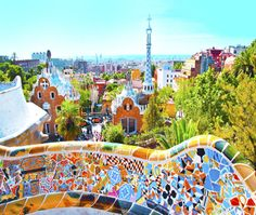 Park Guell in Barcelona. (Photo: iStock)