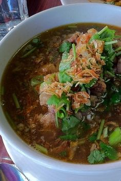 Oxtail Soup at Pam Real Thai