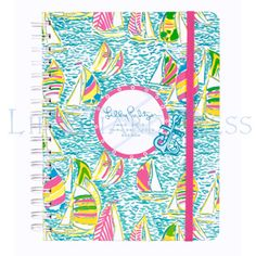 Large Lilly Agenda... best agendas ever!