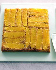 Light Pineapple Upside-Down Cake Recipe