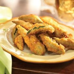 Crispy Fried Okra  http://www.crisco.com/Recipes/Details.aspx?recipeID=3061