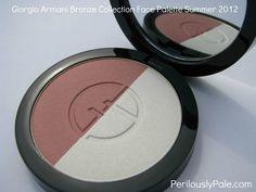 Giorgio Armani Summer 2012 Bronze Color Face Palette ~ Swatches, Pics, Review Click through!