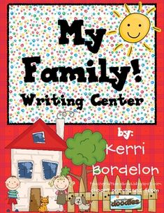 Students will love using these Family-themed Writing Mats in Literacy and Writing Centers. Colorful pictures, along with vocabulary words, are the ...{$2}