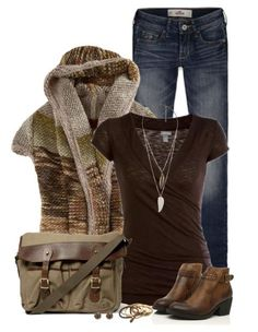 sweaters, cloth, fashion outfits, ankle boots, fall outfits for 2014, polyvore, knit sweater, casual outfits, fall fashion 2014 outfits