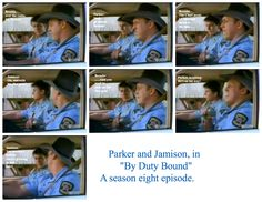 "Parker and Jamison, in ""By Duty Bound."""