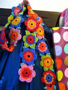 Flower Scarf by Attic24, via Flickr