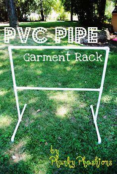 Phunky Phashions by Wendy: PVC Pipe Garment Rack