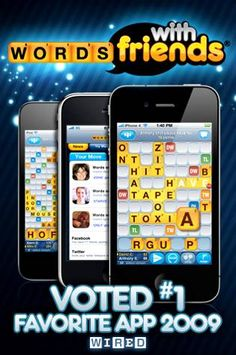 FREE Words With Friends App! {iPhone or Droid}
