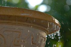 DIY Outdoor Water Fountain