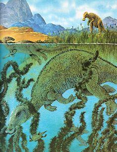 Edmontosaurus.