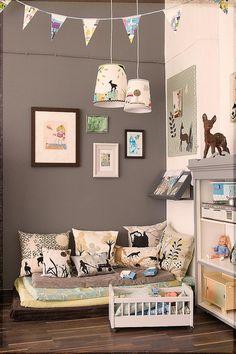 Chambre enfant kid 39 s room on pinterest 79 pins - Coin lecture chambre enfant ...