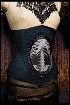 Skeletal corset