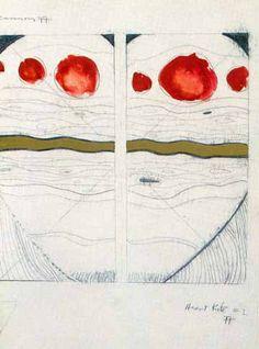 T.C. Cannon. Heart Kite. Native American artist. #nativeamerican