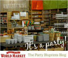 It's A Party At Cost Plus World Market® #WorldMarket_NJ #spon - Livingston NJ Store Grand Opening July 10th 2014!