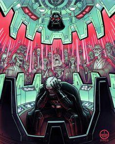 Vader Faces His Demons // Jeff Carlisle