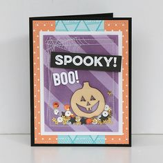 Halloween Card by Juliana Michaels using Elle's Studio products