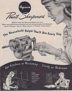 Ad Pencil Sharpener 1948