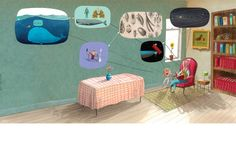"Oliver Jeffers - Picture Book ""The Heart and the Bottle"""