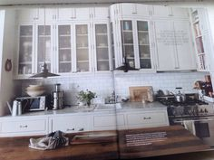 From Elle Decoration, June 2014. Nina Persson's kitchen, New York.