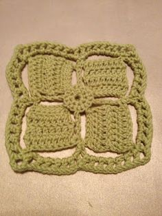 365 Granny Squares Project: Windmill.....