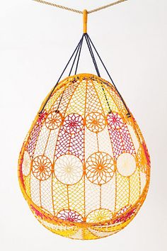 Hanging Egg Chair! Love it!