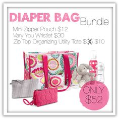 Diaper Bag Bundle | February 1 through February 26th